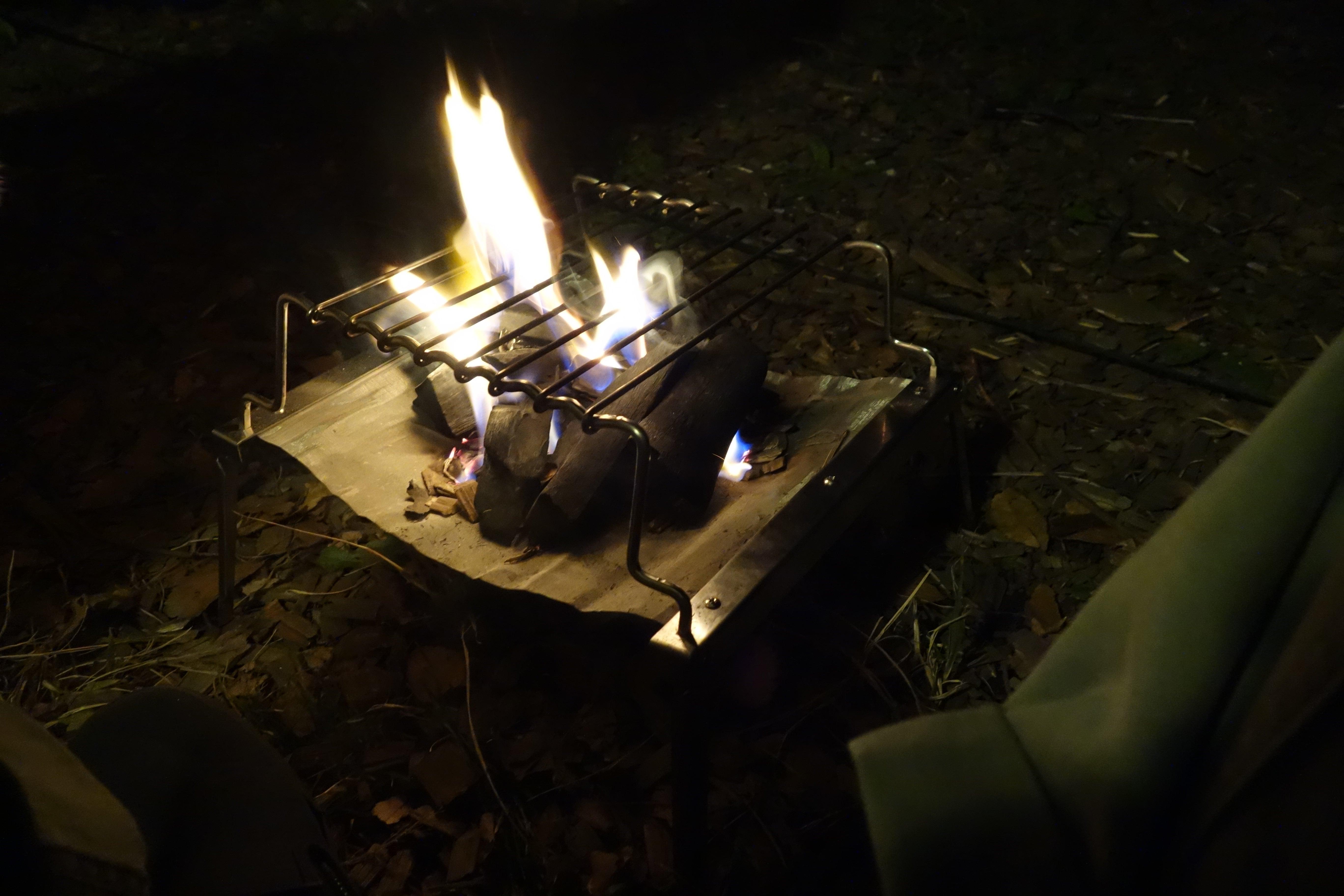 秘密のグリルちゃん焚き火台